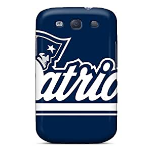 Ultra Slim Fit Hard Pchcase Case Cover Specially Made For Galaxy S3- New England Patriots