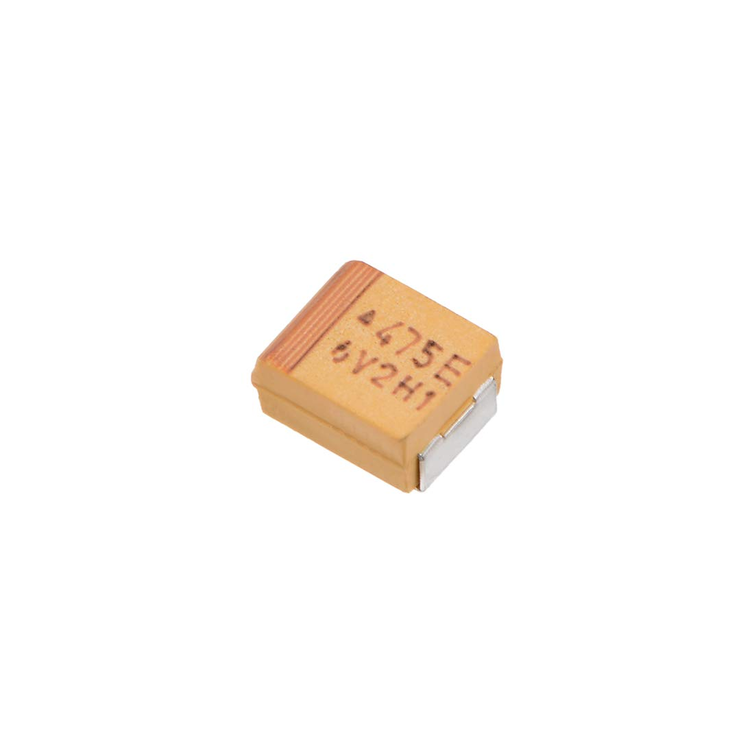 uxcell 4.7uF Chip SMD Tantalum Capacitor 25V 7343D 10/% Tolerance 4X2X2mm