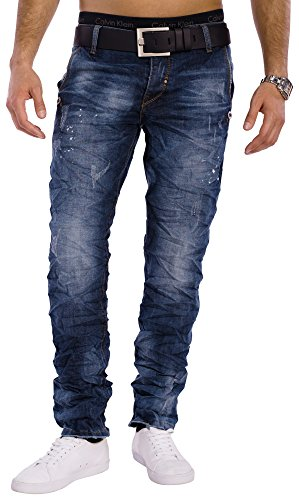Jeans vintage Perth Homme ID1324 Regular Fit