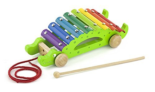 Crocodile Pull Along Xylophone by The Original Toy Company