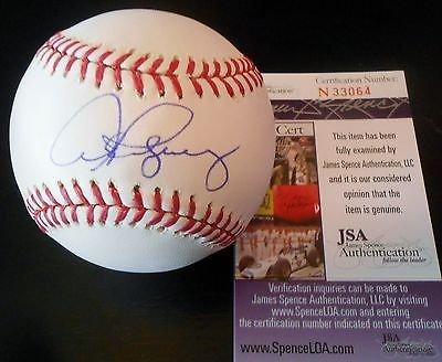 Alex Rodriguez Signed Official MLB Baseball w/JSA COA N33064 NY Yankees