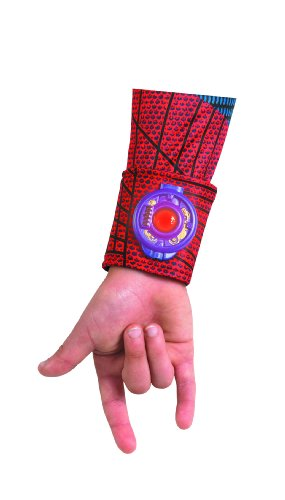 The Amazing Spider-man Movie Light Up Web Shooter Deluxe Costume, Red/Blue, One -
