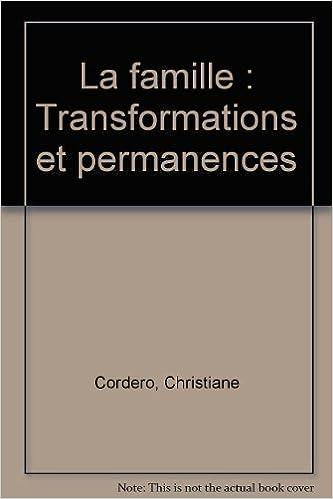 Livres gratuits La famille : Transformations et permanences epub pdf