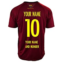 Fc Barcelona Adult Training Soccer Jersey * Personalized Custom (Add Name & Number)