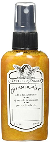 Tattered Angels 16096 Glimmer Mist Art Paint, Butternut Squash