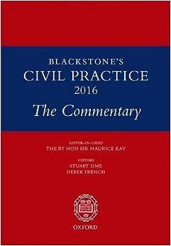 Blackstone's Civil Practice 2016: The Commentary (2016-02-25)