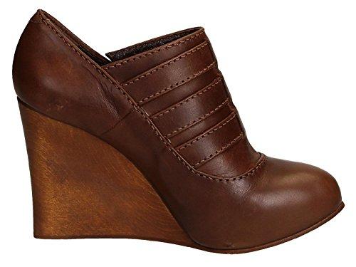 Marron CH717100332 Femme Cuir Chloé Chaussures Compensées gFERfPfwq