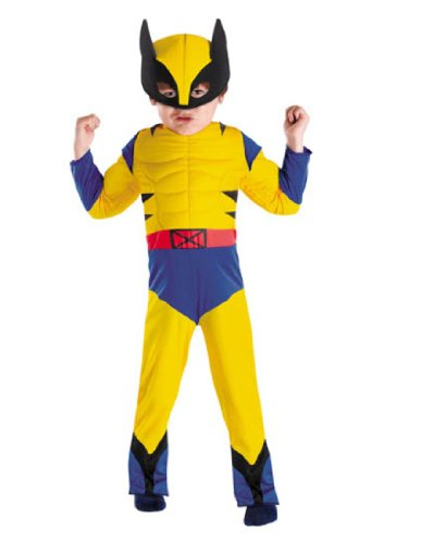 Wolverine Boy's Costume (Wolverine Costume For Boy)