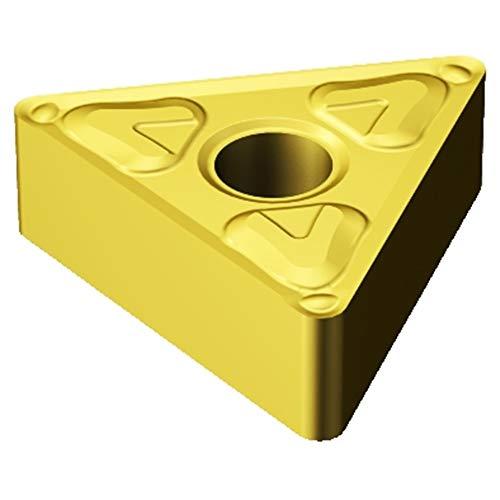 (Sandvik Coromant TNMG 332-XF 2015 T-Max P Insert for Turning, Carbide, Triangle, Neutral Cut, 2015 Grade, Ti(C,N)+Al2O3+TiN (Pack of 10))
