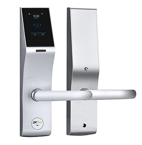 ZKTeco Biometric Door Lock Face Recognition Smart Keyless Digital Touchscreen Keypad Lever Lockset with Knob Handle  sc 1 st  Screen Burn Beta Fest & ZKTeco Biometric Door Lock Face Recognition Smart Keyless Digital ...
