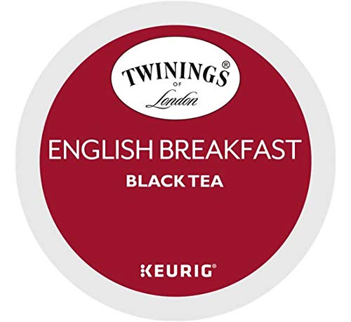Keurig Tea and Ice Tea Pods K-Cups 18/22 / 24 Count Capsules ALL BRANDS/FLAVORS (Twinings/Chai/Celestial/Lipton/Tazo/Diet Snapple) (24 Pods English Breakfast) -  Globalpixels