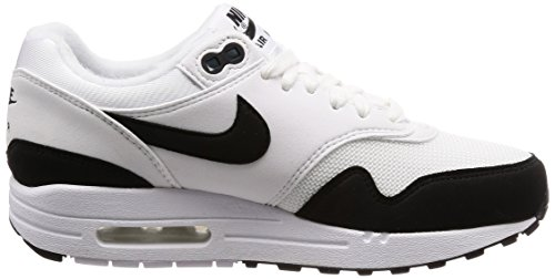 White Donna Running Scarpe Max 1 Wmns Air Black 109 Nike Bianco wqT8RUU