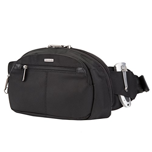 - Travelon Anti-Theft Concealed Carry Waist Pack, Black