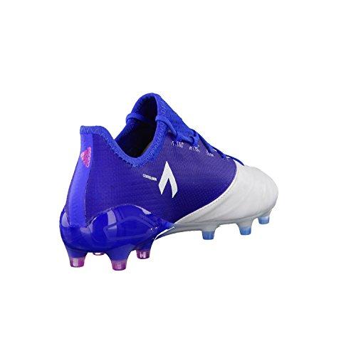 adidas Ace 17.1 Leather Fg, pour les Chaussures de Formation de Football Homme, Bleu (Blu Azul/Rosimp/Ftwbla), 42 EU