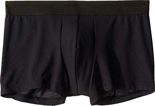 hom Men's Mesh Boxer Briefs Black Large