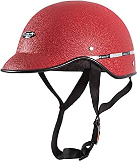 5e9bb363620 GTB Mini Wrinkle Men s All Purpose Safety Helmet with Strap for Bikes (Red