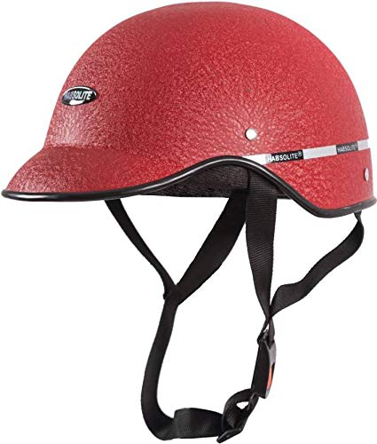 GTB Mini Wrinkle Men's All Purpose Safety Helmet with Strap for Bikes (Red, Free Size)