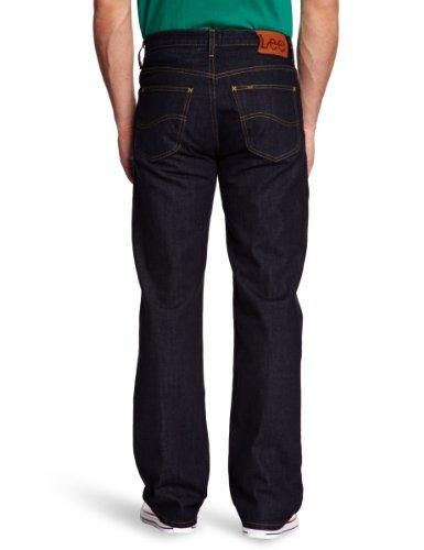 Lee Brooklyn Comfort - Jeans - Droit - Homme - Bleu - W30/L34 (Taille fabricant : W30/L34)