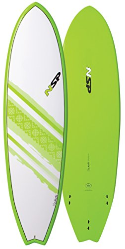 NSP Elements Fish Short Surfboard   Fins Included   All Around Design   Available in 6