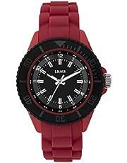 s.Oliver Jungen Analog Quarz Uhr mit Silikon Armband