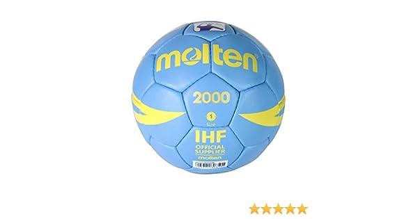 MOLTEN Balón Balonmano HX2000 Talla 1: Amazon.es: Deportes y aire ...