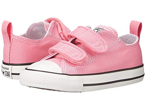 Converse Kids' Chuck Taylor All Star 2v Low Top Sneaker Pink ()
