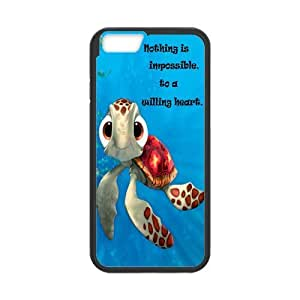iPhone 6 Hard Case,Cute Cartoon Sea Turtle Squirt Snap-on Protective Hardshell Cover Case for iPhone 6 (4.7 inch)