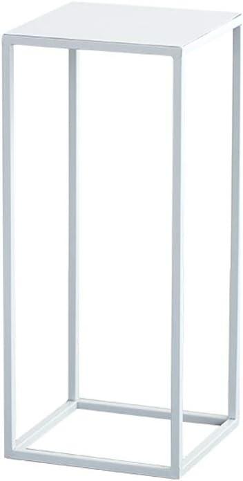 Khkfg Kreative Nordic Schmiedeeisen Blumenständer Indoor Grün Pflanzgefäß Rack Wohnzimmer Balkon Einfache Boden Blumenständer (Farbe : Weiß, größe : M)