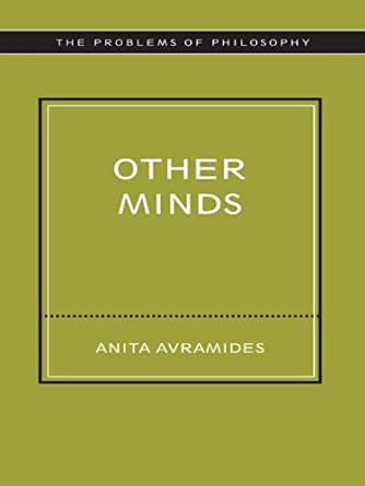 Other Minds Problems Of Philosophy Kindle Edition By border=