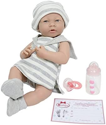 JC Toys Newborn Dolls White product image