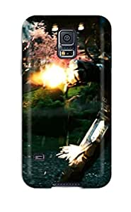 Slim Fit Tpu Protector Shock Absorbent Bumper Iron Man 2 Last Scene Case For Galaxy S5