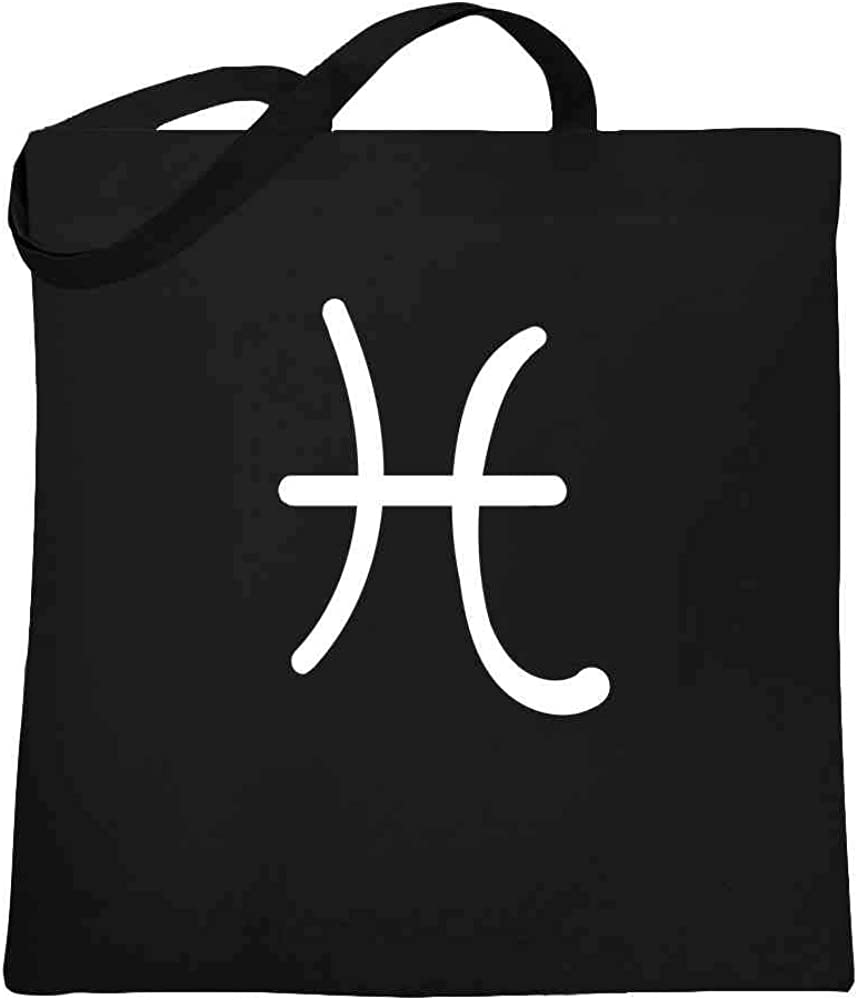 Pisces Horoscope Small Tote Bag Star Sign Zodiac Birthday Shoulder