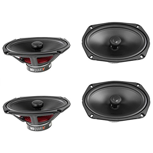 "4) MB Quart 6x9"" 360W Discus Coaxial Car Audio Stereo Speakers Four
