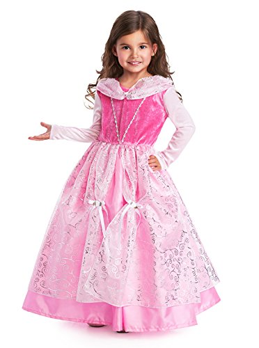 Deluxe Sleeping Beauty Girls Princess Costume