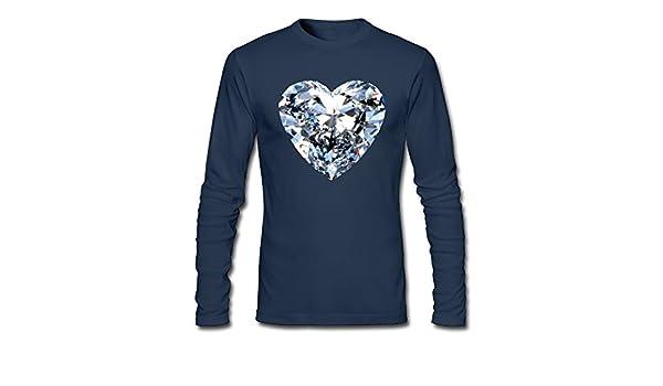 Amazon com: LINpeiqiong Diamonds Tanks Long Sleeve T-Shirt Lovely