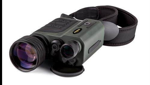 Konus konuspy-8 6 – 24 x 50ナイトビジョン双眼、ブラック/グリーン、7929 B078V6VZ5F