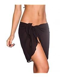 Coqueta Swimwear Chiffon Cover up Beach Sarong Pareo Canga Swimsuit Wrap BRAZIL