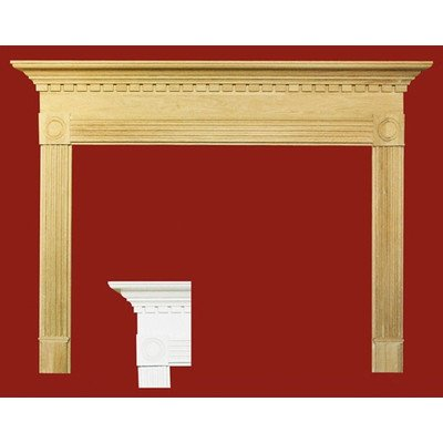 Windsor MDF Primed Fireplace Mantel Surround Shelf Length: 36