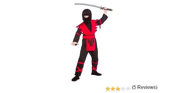 Wicked Costumes - Disfraz de ninja para niños Talla Pequeña 3-4 ...