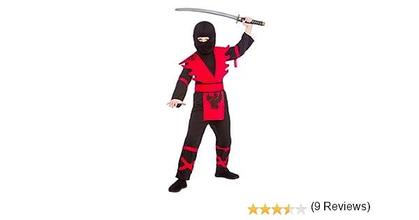 Wicked Costumes - Disfraz de Ninja Para Niños Talla 11-13 Años (146-158Cm): Amazon.es: Juguetes y juegos
