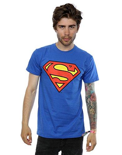 DC Comics Mens Superman Logo T-Shirt