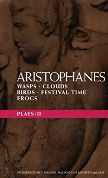 Wasps; Clouds; Birds; Festival Time; Frogs (Aristophanes Plays: 2) 0413669106 Book Cover