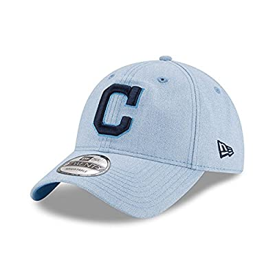 New Era Cleveland Indians 2018 Father's Day 9TWENTY Adjustable Hat – Light Blue from New Era