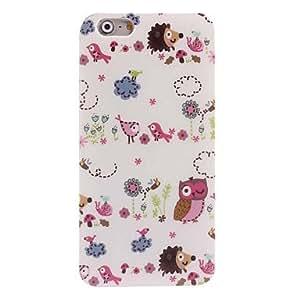 QJM Cartoon Animal Design Soft Case for iPhone 6 Plus