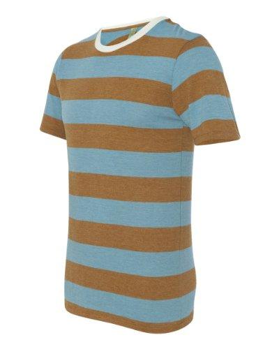 Price comparison product image Alternative Men's Ugly Stripe Crew - ECO TR TURQUOISE - S