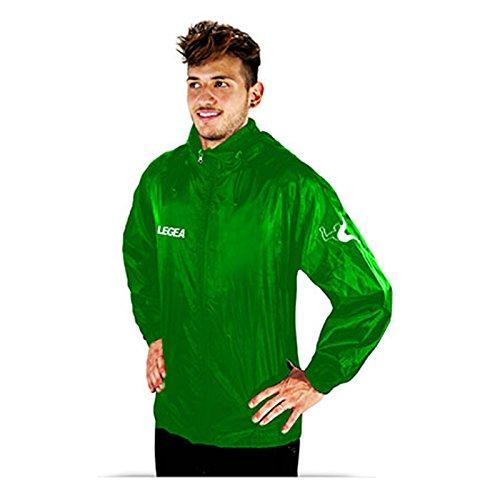 Italia Legea Italia Chaqueta Impermeable Legea Legea Chaqueta Italia Verde Verde Impermeable 440r1BqZ