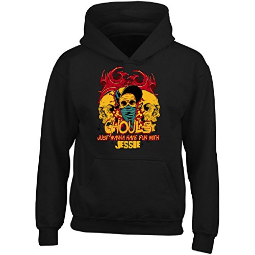 Ghouls Just Wanna Have Fun With Jessie Halloween - Adult Hoodie S Black