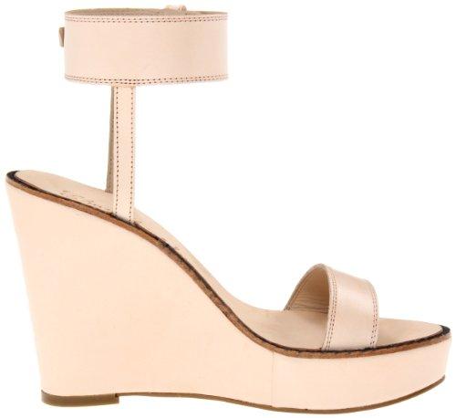 Sandalo Con Zeppa E-brit Donna Elizabeth E James Naturale