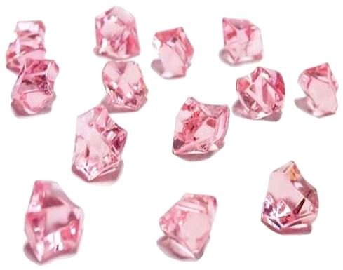 Ice Rock Crystals Treasure Gems for Table Scatters, Vase Fillers, Event, Wedding, Birthday Decoration Favor, Arts & Crafts (1 lb. Bag) by Homeneeds Inc (PINK) (Gem Table Scatter compare prices)