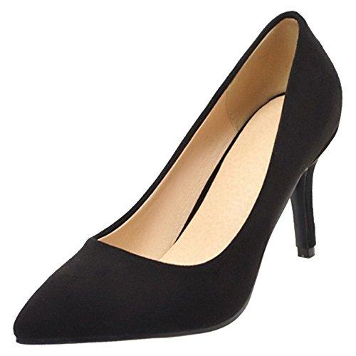 Cordones Stiletto 8cm Black Mujer Sin Zapatos Coolcept 8w6zSqE